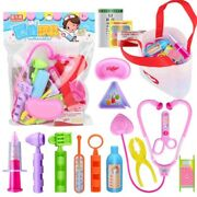 Kids Doctor Pretend Toy Play Set Medical Role Children Educational Gift Kit