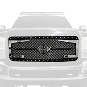 For Ford F-250 Super Duty 11-16 Main Grille 1-pc Rc3dx Innovative Design Custom