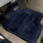 For Ram 3500 11-18 Tailormade Sheepskin 1st Row Navy Floor Mats W Heel Pad