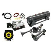 For Ford F-150 17-19 Onboard Air System W 6450rc Compressor And 730 Train Horn