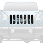 For Jeep Wrangler 97-06 Main Grille 1-pc Artistic Take On Tuna Fish Style