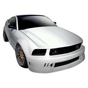 For Ford Mustang 05-09 Duraflex Circuit Style Fiberglass Wide Body Kit Unpainted