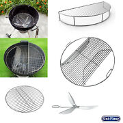 Cooking Grate Warming Rack Charcoal Grate Cleaning System For Weber 22.5 Grills