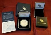 End Of World War Ii 75th Anniversary Silver Medalandnbspand Case In Hand Fast Ship