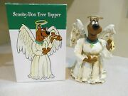 Warner Brothers Store Exclusive Scooby Doo Angel Christmas Tree Topper W/box Htf