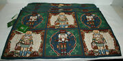 New Set Of 6 Christmas House Nutcracker Tapestry Cloth Placemats 13x19 Nwt