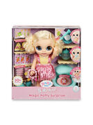 Baby Born Surprise Magic Potty Surprise Blue Eyes Andndash Doll Pees Glitter And Poopsandnbsp