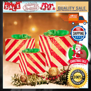 Christmas Lighted Boxes Set Of 3 With 70 Lights Outdoor Present Decorations New