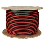 Install Bay Swrb12500 12 Awg 2-way 500and039 Red/black Stranded Gpt Speaker Wire