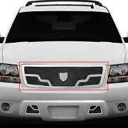 For Chevy Tahoe 07-13 Main Grille Lexani 1-pc Venice Style Black Mesh Main