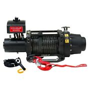 16,500 Lbs Seal Gen2 16.5s Electric Winch W Roller Fairlead And Synthetic Rope