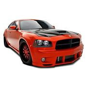 For Dodge Charger 2006-2010 Couture 104818 Luxe Style Wide Body Kit Unpainted