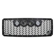 For Ford F-250 Super Duty 11-16 Main Grille 1-pc Vx Series Cannon Gen 2 Style