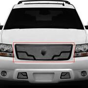 For Chevy Tahoe 07-13 Main Grille Lexani 1-pc Venice Style Chrome Mesh Main