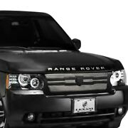 For Land Rover Range Rover 10-12 Main Grille Lexani 1-pc Zurich Style Chrome