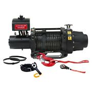 16,500 Lbs Seal Gen2 16.5rs Electric Winch W Roller Fairlead And Synthetic Rope