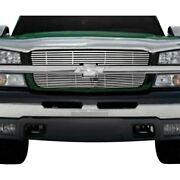 For Chevy Avalanche 2500 2002-2006 Saa 2-pc Chrome Billet Main Grille