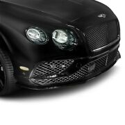 For Bentley Continental 16-17 Front Bumper Spoiler Speed Style Fiberglass Front