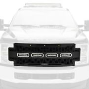 For Ford F-250 Super Duty 17-19 Main Grille 1-pc Revolver Series Raptor-style