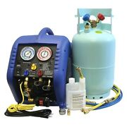 69000 Series Multi-refrigerant Complete A/c Recovery System W 30 Lb Tank
