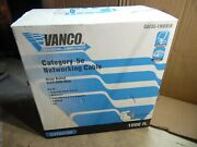 Vanco Cat5e Communication Networking Multimedia Lan Cable 4/24 Awg 750-1000 Ft