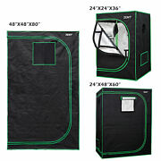 Grow Tent Box Seed Hydroponics With Window Indoor Horticulture Growing Room