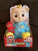 🎶 Musical Cocomelon Plush Bedtime Jj Doll, 10in With Sound. Free Shipping 🎁