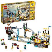 Lego Creator 3in1 Pirate Roller Coaster 31084 Building Kit 923 Pieces