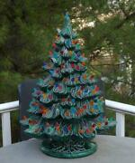 Ceramic Electric Musical Christmas Tree 100and039s Of Tips Nowells Molds 1979