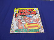 1982 Topps Wacky Packages Complete 20 Sticker Album Oas17
