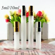 Frosted Glass Spray Bottles Refill Perfume Sample Vials Atomizer Portable 50 Pcs