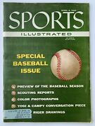 Vintage Magazine 1956 - Sports Illustrated - Special Baseball Issue