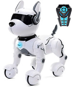 Top Race Tr-p5 Remote Control Dog Smart Mini Pet Dancing To Beat Puppy Dogs And 2