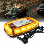 Xprite Amber 36 Led Strobe Beacon Light Flashing Emergency Hazard Warning 12v
