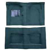 For Ford Galaxie 500 65-67 Carpet Standard Replacement Molded Aqua Complete
