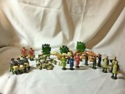 John Hill And Co., = Farm Animals And Town Folks - England - Die Cast