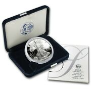 2005 W Proof Silver Eagle American Dollar 1 Coin Ogp/coa-first Day Issue