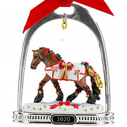 Breyer Horses 2020 Holiday Collection   Stirrup Ornament - Yuletide Greetings  