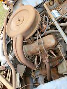 Saab V4 Engine Late 60and039s - 70and039s Runs With Video Will Ship No Core