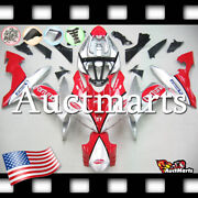 For Yamaha Yzf-r1 2004-2006 Fairing Bodywork Abs Plastic Kit Red Silver 4e8 Pa