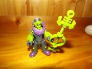 Imaginext Blind Mystery Bag Series 1 Green Alien Figure W/ Cape Staff Complete