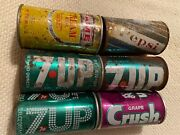 Vintage Soda Can Lot