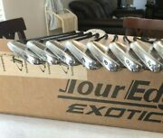 Tour Edge Pro Cbx Forged Mb Iron Set 4-aw And Matching Wedges-54,60 - New