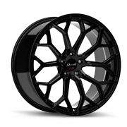 22and039and039 Giovanna Monte Carlo Wheels Tires Gloss Black Audi A8 S8 S7 Bentley S550