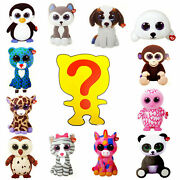 Ty Mini Boos Series 1 Animal Figure Collectibles Sealed Random Boxes 1, 4, 8, 12