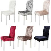 Dining Chair Cover High Back Slanting Stool Cover Stretch Slipcover For Wedding