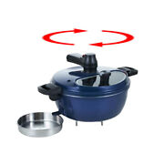 Lamp Cook Automatic Rotating Cooking Pot Camping Oven Korean Bbq Grill With Gift