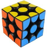 New Professional Magic Cube Black Slip Puzzle Toy 3x3x3 For Kids Christmas Gift