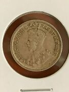 1915 Silver Canada 5 Cent Xf/au Nice Original With Lots Of Luster