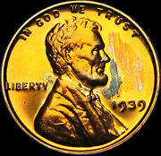 1939 Lincoln Cent Wheat Penny Coin ---- Gem Proof++ Condition ---- K223